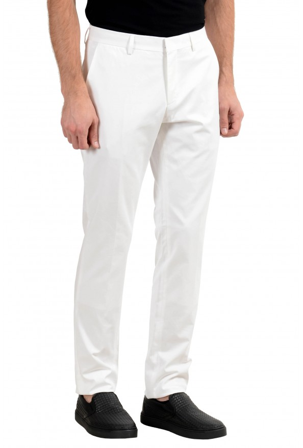 """Hugo Boss """"Genesis2"""" Men's White Stretch Casual Pants : Picture 3"""