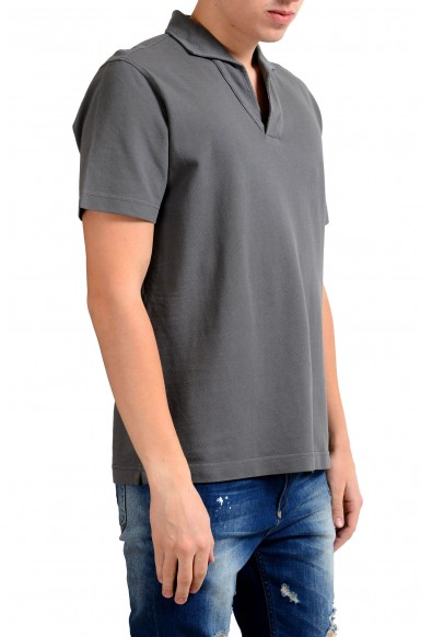 Malo Men's Gray Short Sleeve Polo Shirt: Picture 2