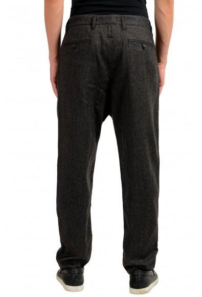 Dolce & Gabbana Men's Wool Gray Striped Dress Pants : Picture 2