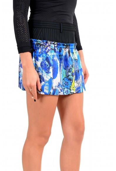 Just Cavalli Women's Multi-Color Wool Mini Skirt : Picture 2
