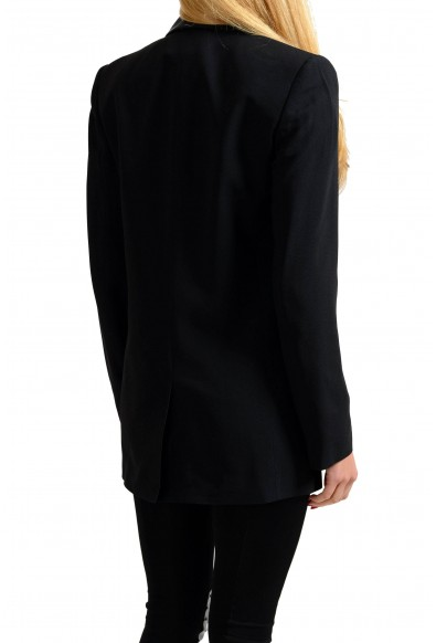 Versace Jeans Black One Button Women's Blazer: Picture 2