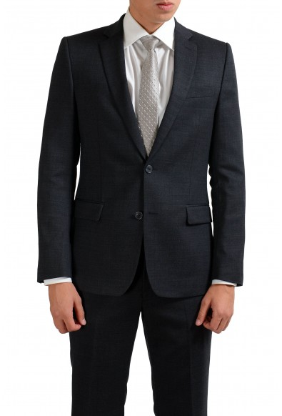 Versace Collection Wool Gray Two Button Men's Suit: Picture 2