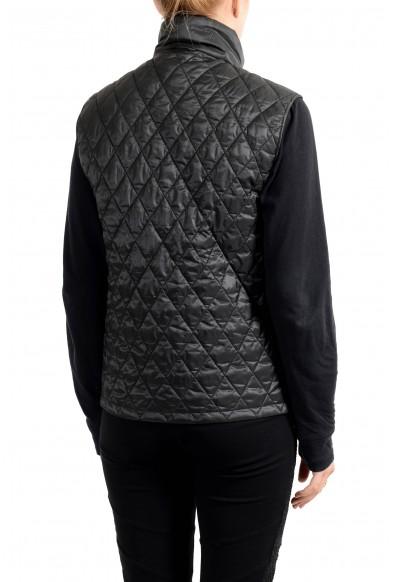 Burberry Women's Black Wool Cashmere Button Down Coat & Vest: Picture 2