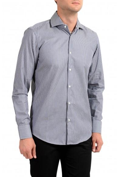 Hugo Boss Men's Gerald Regular Fit Striped Long Sleeve Dress Shirt