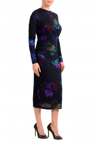 """Hugo Boss Women's """"Esetta"""" Multi-Color Stretch Midi Dress: Picture 2"""
