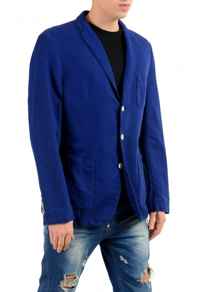 "Hugo Boss ""Neel-D"" Linen Purple Three Button Men's Blazer: Picture 2"