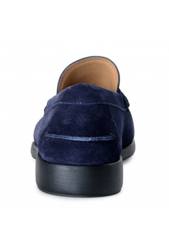 Salvatore Ferragamo Men's Ferro Suede Leather Loafers Moccasins Slip On Shoes: Picture 3