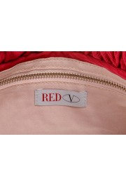 Red Valentino Women's True Red Canvas Bows Decorated Clutch Bag: Picture 4