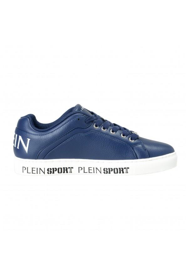 "Plein Sport ""Julian"" Blue Fashion Sneakers Shoes: Picture 4"