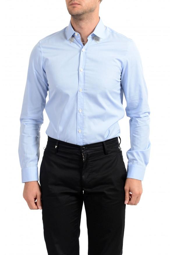 Lanvin Men's Light Blue Long Sleeve Dress Shirt: Picture 4