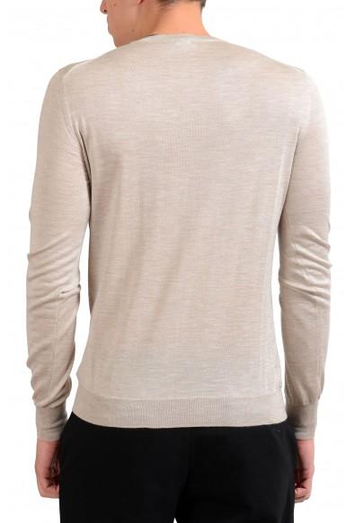 Malo Men's Silk Cashmere Beige Light Pullover Sweater : Picture 2