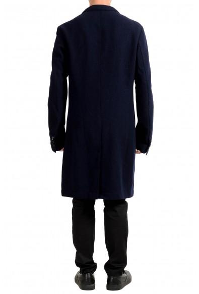 "Hugo Boss ""Shawn4_1"" Men's 100% Wool Navy Blue Three Button Coat: Picture 2"