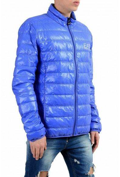 Emporio Armani EA7 Men's Blue Duck Down Full Zip Light Parka Jacket: Picture 2