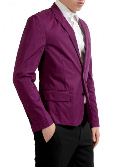 Dolce & Gabbana Men's Plum Purple Light Two Button Blazer Sport Coat: Picture 2