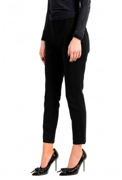 """Hugo Boss Women's """"Attrira"""" Black Cropped Casual Pants: Picture 2"""