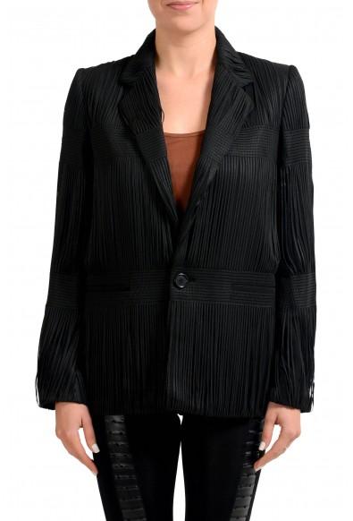 Maison Margiela 1 Wool Black One Button Women's Blazer
