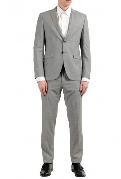 "Hugo Boss ""Reymond/Wenten"" Men's 100% Wool Extra Slim Two Button Suit"