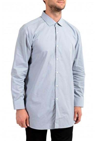 """Hugo Boss Men's """"EastonX"""" Slim Striped Long Sleeve Dress Shirt"""
