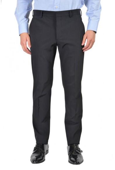 Prada Men's Blue Flat Front Pants : Picture 2