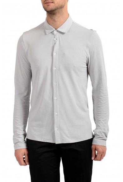 Malo Men's Ivory Long Sleeve Casual Shirt