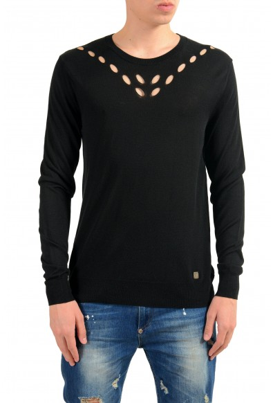 Versace Collection Men's Crewneck Black Sweater