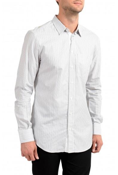 Dolce&Gabbana D&G Men's Striped Long Sleeve Casual Shirt