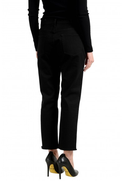 Burberry London Women's Black Slim Stretch Cropped Jeans: Picture 2