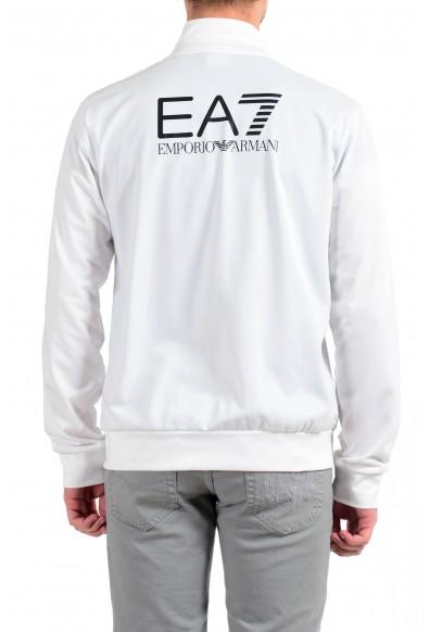 """Emporio Armani EA7 """"Train Big"""" Men's White Full Zip Track Jacket: Picture 2"""