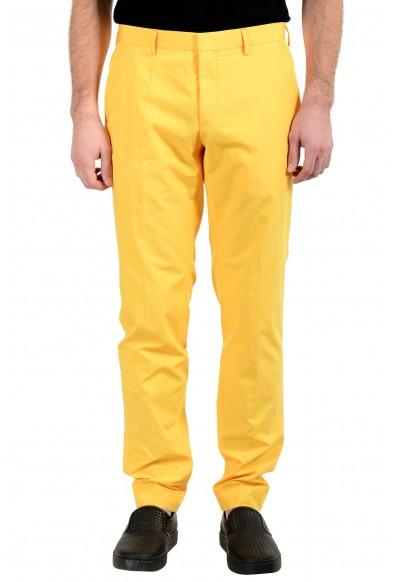 """Hugo Boss """"Genesis4"""" Men's Yellow Casual Pants"""