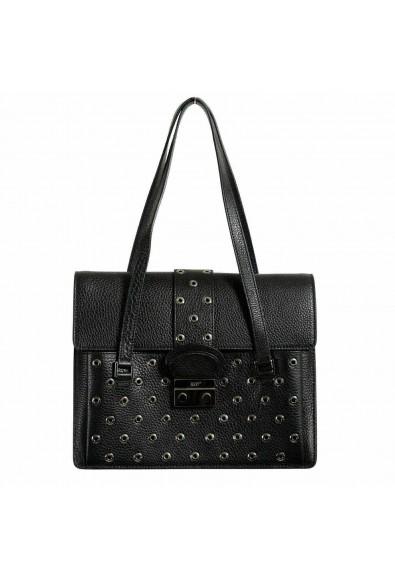 Red Valentino Leather Black Women's Handbag Shoulder Bag