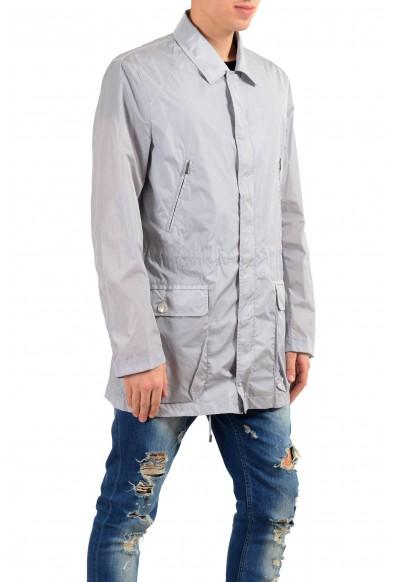Malo Gray Full Zip Men's Windbreaker Jacket : Picture 2