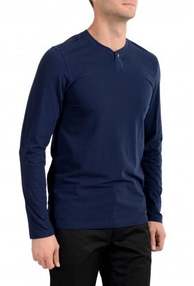 Versace Underwear Men's Blue Long Sleeve T-Shirt: Picture 2