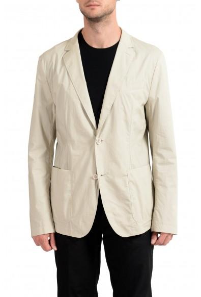 "Hugo Boss ""Nilai-W"" Men's Beige Two Button Blazer Sport Coat"