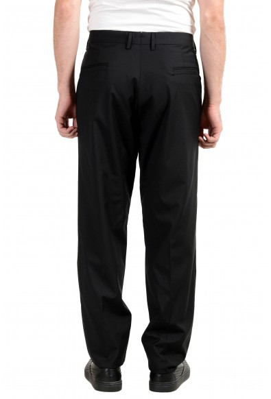 Versace Men's 100% Wool Black Dress Pants: Picture 2