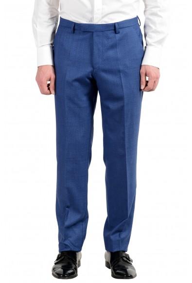 "Hugo Boss ""Johnstons5/Lenon1"" Men's Blue 100% Wool Two Button Suit: Picture 2"