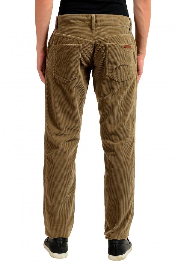 Dolce & Gabbana Men's Brown Corduroy Casual Pants: Picture 3