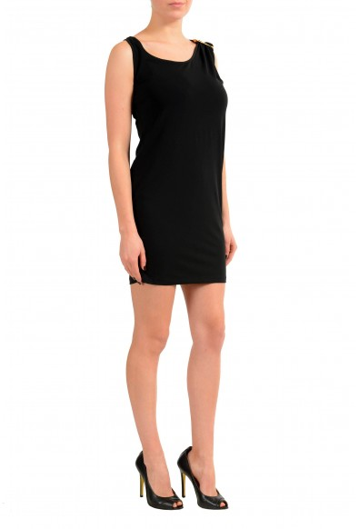 Versace Versus Black Sleeveless Women's Sheath Dress: Picture 2