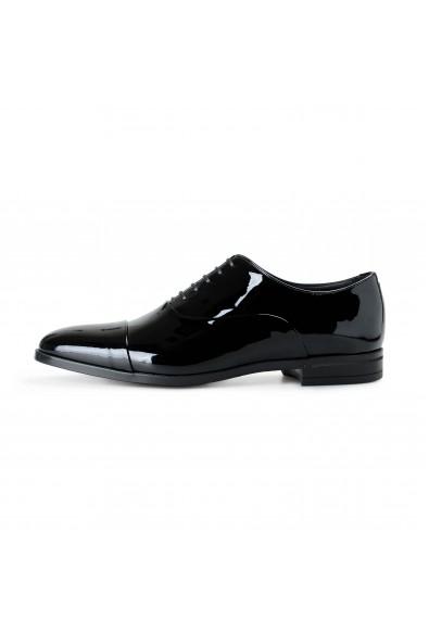 "Hugo Boss Men's ""Portland_Oxfr_pactns"" Black Patent Leather Oxfords Shoes: Picture 2"