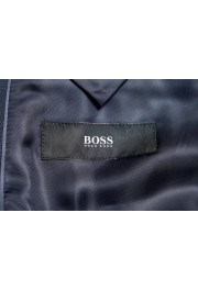 "Hugo Boss ""Johnstons2/Lenon"" Men's 100% Wool Blue Plaid Two Button Suit: Picture 11"