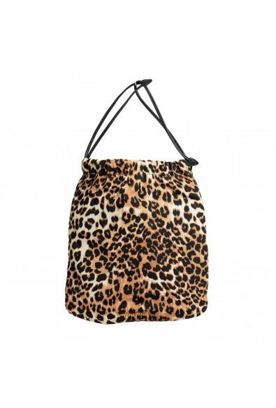 Miu Miu Women's 5NG005 Animal Print Cosmetic Bag
