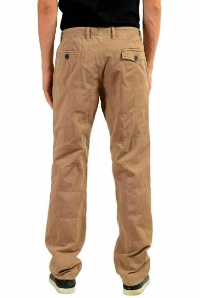 Moncler Men's Beige Casual Pants: Picture 2