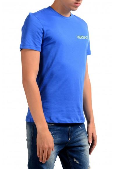 Versace Jeans Men's Blue Crewneck Short Sleeve T-Shirt : Picture 2