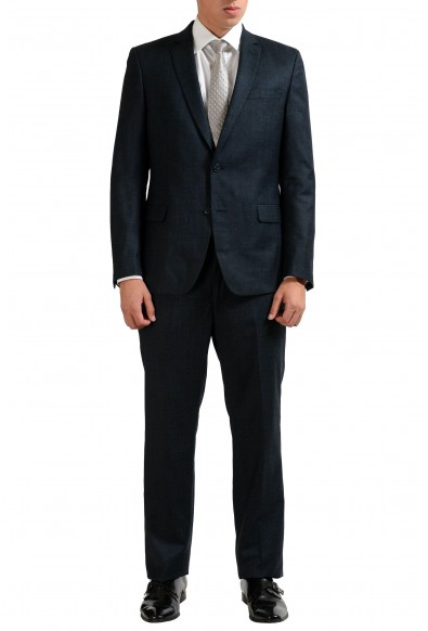 Versace Collection 100% Wool Gray Two Button Men's Suit