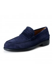 Salvatore Ferragamo Men's Ferro Suede Leather Loafers Moccasins Slip On Shoes