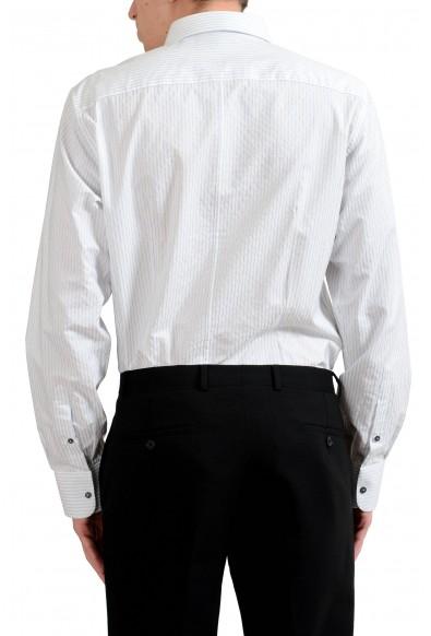 "Dolce & Gabbana ""Martini"" Men's Striped Long Sleeve Dress Shirt : Picture 2"