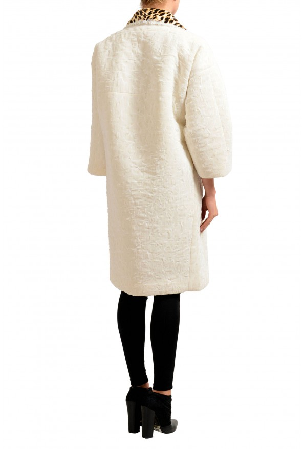 Maison Magiela Off-White Double Breasted Women's Oversized Basic Coat: Picture 3