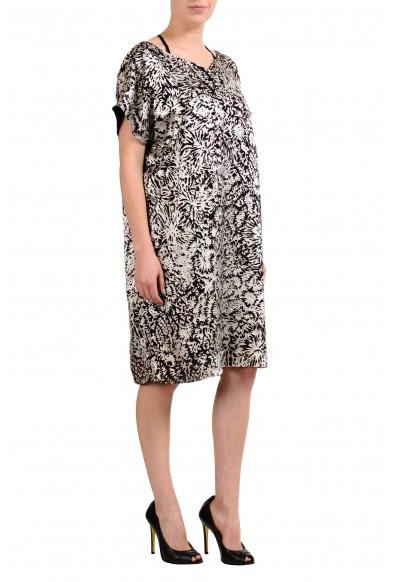 Maison Margiela 4 Silk Multi-Color Short Sleeve Women's Sheath Dress: Picture 2