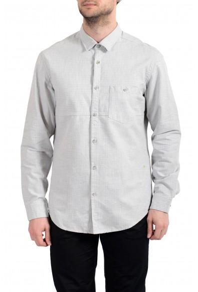 Hugo Boss BROOM_R Men's Regular Fit Flannel Long Sleeve Casual Shirt
