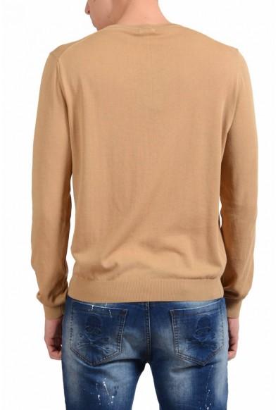 Malo Men's Bronze Brown V-Neck Light Sweater: Picture 2