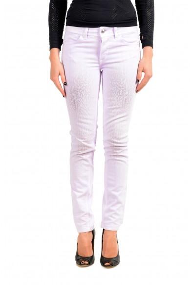 Just Cavalli Women's Purple Skinny Leg Jeans